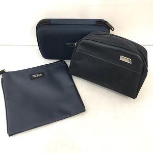 3 Lot Tumi Travel/Toiletry Bag (B18)